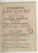 Illustration de la page Christian Thomasius (1655-1728) provenant de Wikipedia