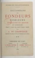 Bildung aus Gallica über Alfred de Champeaux (1833-1903)