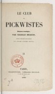 Image from Gallica about Pickwick papers