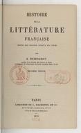 Bildung aus Gallica über Jacques Demogeot (1808-1894)