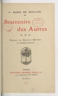 Illustration de la page Pedro Rioux de Maillou (1853-1914) provenant de Wikipedia