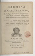 Image from Gallica about Charles Le Beau (1701-1778)