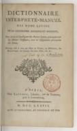 Illustration de la page Esprit-Joseph Chaudon (1738?-1800?) provenant de Wikipedia