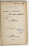 Bildung aus Gallica über Gustave Ducoudray (1838-1906)