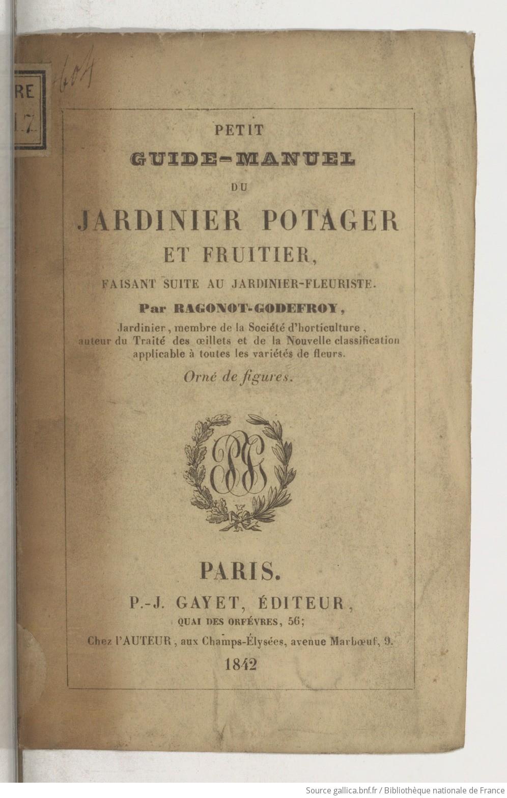 [PDF] Ouvrages anciens: Jardins ,Potagers, Cultures ,Economie Domestique - Page 2 F1