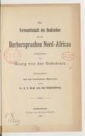 Bildung aus Gallica über Georg Conon von der Gabelentz (1840-1893)