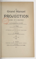 Image from Gallica about Le grand manuel de projection