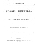 Image from Gallica about Reptiles