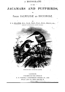 Image from Gallica about Jacamars