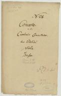 Illustration de la page Concertos. Clavecin, orchestre. Do majeur. H 476 provenant de Wikipedia