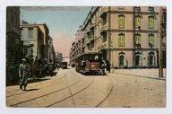 Alexandrie. Rue Porte Rosette  1911
