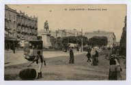 Alexandrie. Place Mohamed Aly  P. Coustoulides