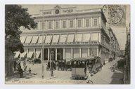 Alexandrie. La Place Mohammed Ali et la Bourse  1910