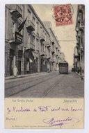Rue Tewfik Pacha Alexandrie  1904
