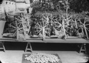 Rouets du Tonkin pour filer le coton  1928