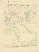 Estimated Turkish order of battle. July 23, 1918  Map Office G. H. Q. E. E. 1918. F