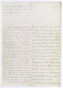 Original Protocol of the Delivery of Louisiana by Spain to France, at New Orleans on November 30, 1803  1803
