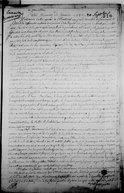 Petit mémoire de Canada  J. Dubois Berthelot de Beaucours. 1742