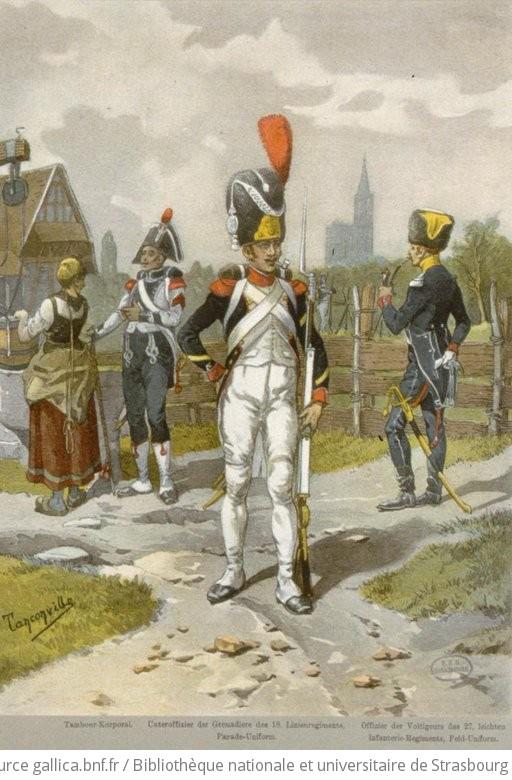 1807. - Division Oudinot (Vereinigte Grenadiere und Voltigeurs) zu Strassburg - 1