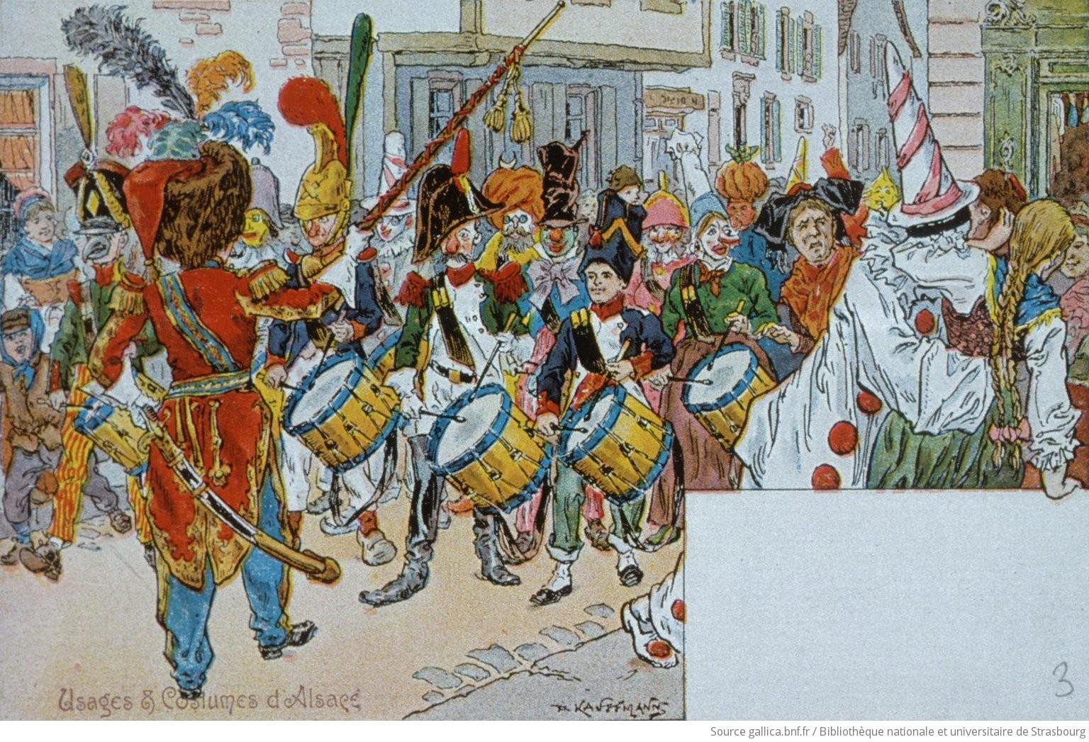 En Carneval : Le Rappel avant la cavalcade - 1