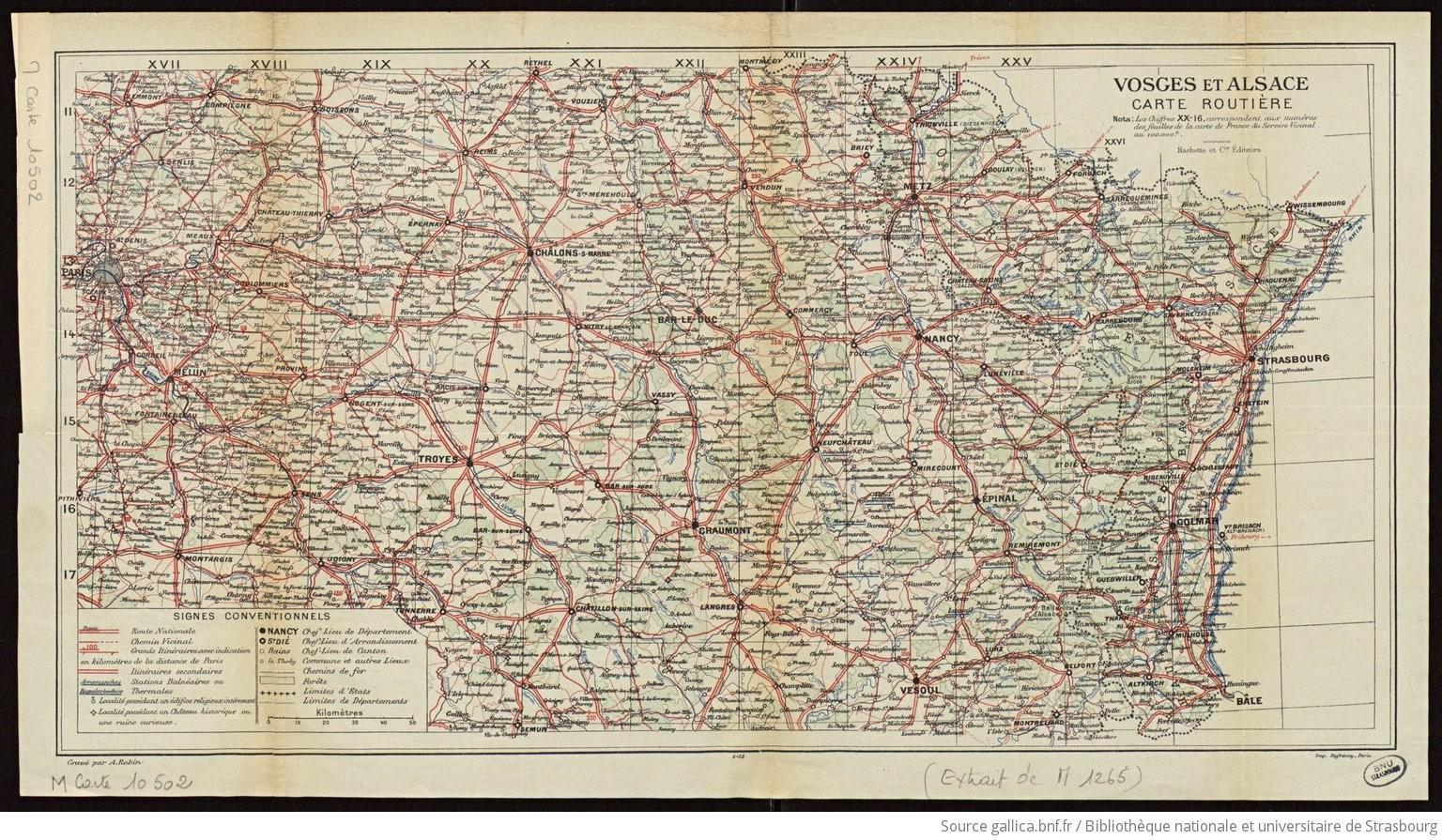Carte Géographique Vosges | tonaartsenfotografie