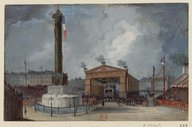 Image from Gallica about Paris (France) -- Place de la Bastille