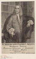 Illustration de la page Sigismond-Jacques Apinus (1693-1752) provenant de Wikipedia