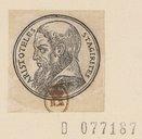 Illustration de la page Aristote (0384-0322 av. J.-C.) provenant du document numerisé de Gallica