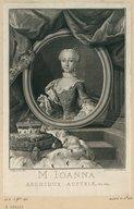 Illustration de la page Marie Jeanne Autriche (archiduchesse d', 1750-1762) provenant de Wikipedia