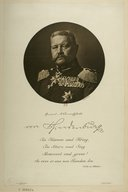 Image from Gallica about Paul von Hindenburg (1847-1934)