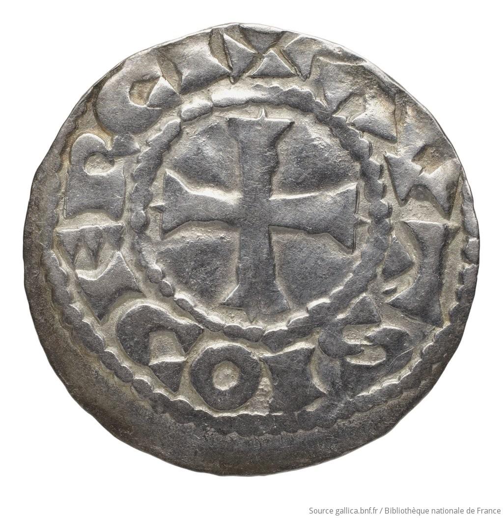[Monnaie. Denier, Auxerre, Richard le Justicier] |