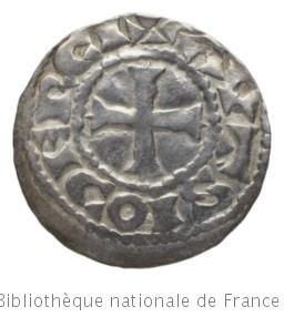 [Monnaie. Denier, Auxerre, Richard le Justicier] | Richard le Justicier. Autorité émettrice de monnaie