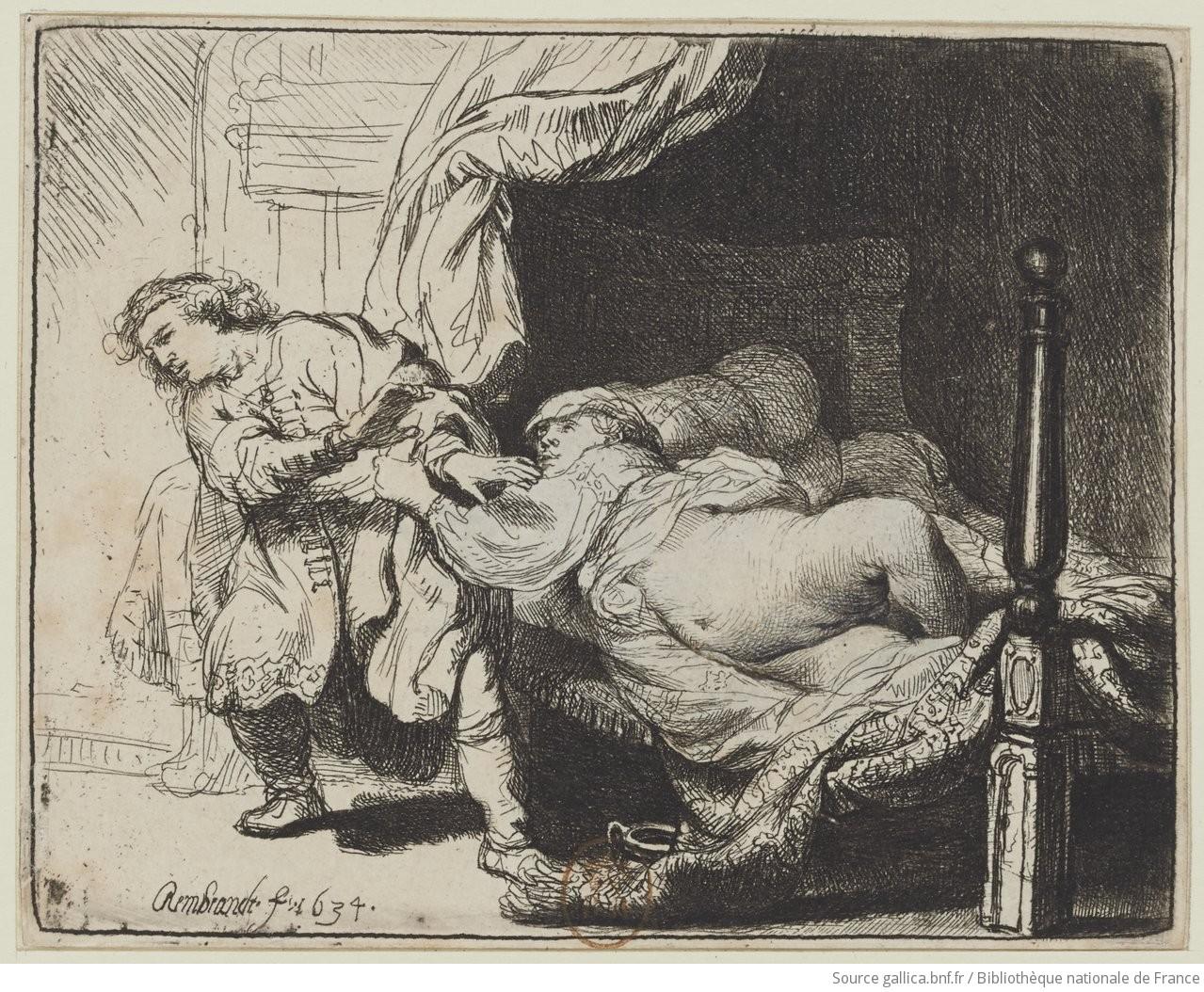 Rembrandt gravados BNF