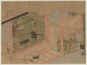 Image from Gallica about Harunobu Suzuki (1725-1770)