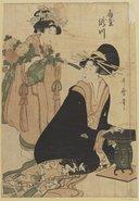 Illustration de la page Utamaro Kitagawa (1753-1806) provenant de Wikipedia