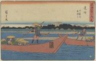 Illustration de la page Hiroshige Utagawa 1 (1797-1858) provenant de Wikipedia