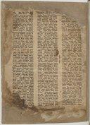 Bible syriaque. Ancien Testament et quelques feuillets du Nouveau  VIe-VIIe s.