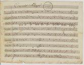 Illustration de la page Concertos. Cor, orchestre. Mi bémol majeur provenant de Wikipedia
