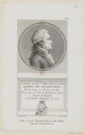 Illustration de la page Marie Alexandre Bonaventure Nédonchel (marquis de, 1741-1832) provenant de Wikipedia