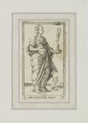 Image from Gallica about Prudentia