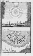 Fig.LXXI : Phénomène observé lors du passage de la comète de l'an 1532 . Fig.LXXII : Phénomène observé lors du passage de la comète de l'an 1537 . [Cote :2524A]