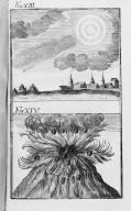 Fig.XIII : Vl'an194 avant J.C . Fig.XIV : Phénomène obbservé lors du passage de la comète de l'a, 184 avant J.C. [Cote :2495A]