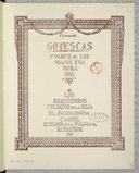 Bildung aus Gallica über Goyescas. W 65