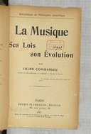 Image from Gallica about Jules Combarieu (1859-1916)
