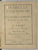 Illustration de la page Isabelle et Gertrude provenant de Wikipedia