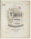Illustration de la page Valses. Violoncelle, piano. Op. 10 provenant de Wikipedia