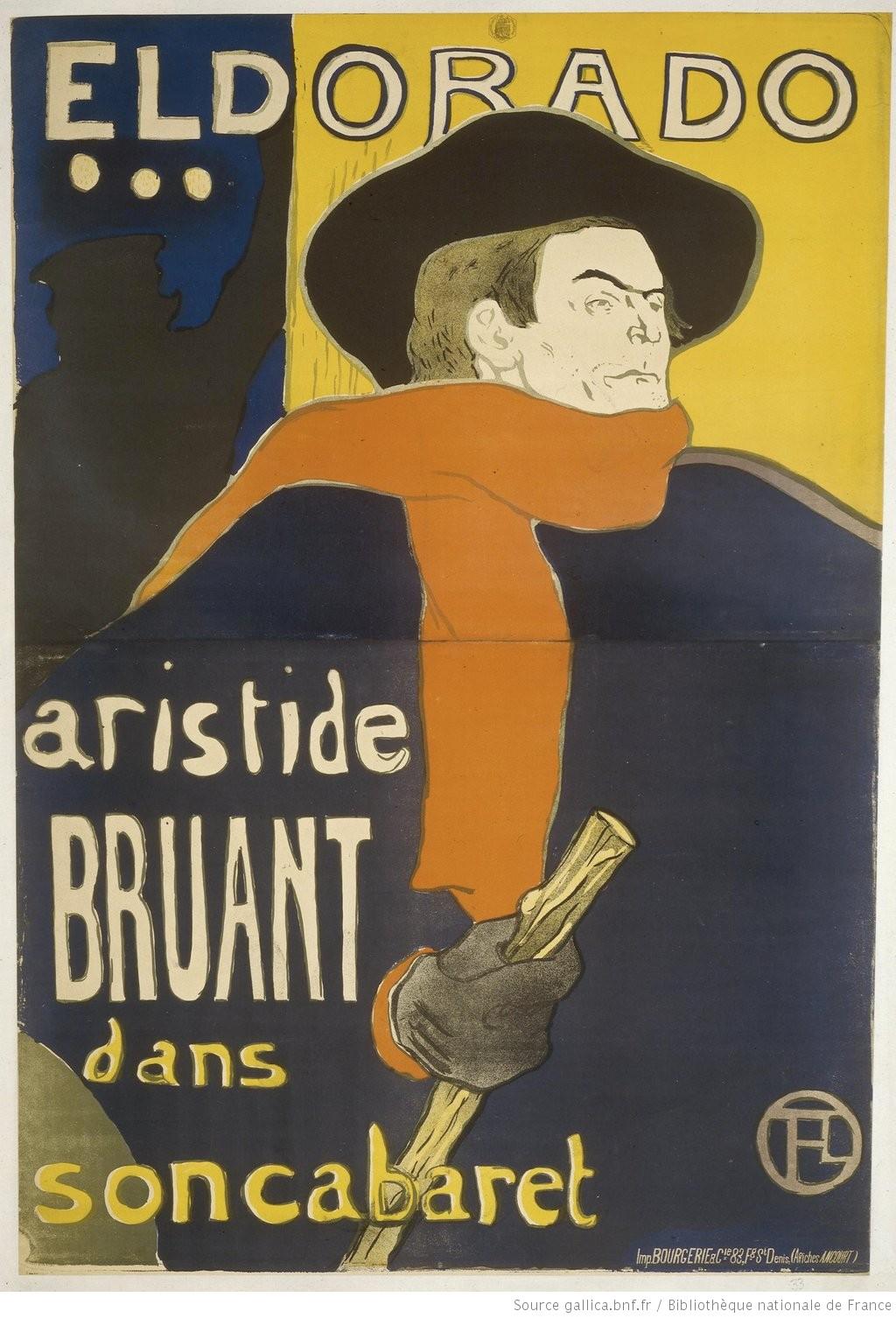 92dcb129bdf Eldorado   Aristide Bruant dans son cabaret br Technique de l  39