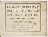 Illustration de la page Giovanni Battista Falda (1643?-1678) provenant de Wikipedia