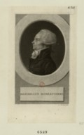 Image from Gallica about Maximilien de Robespierre (1758-1794)