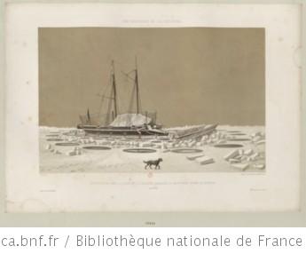 Fortifications dans la glace de la chaloupe canonnière La Meutrière devant Kil-Bouroun : [estampe]